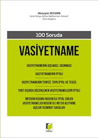 100 Soruda Vasiyetname
