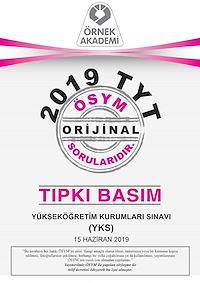 2019 TYT Tıpkı Basım