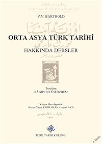 Orta Asya Türk Tarihi Hakkında Dersler