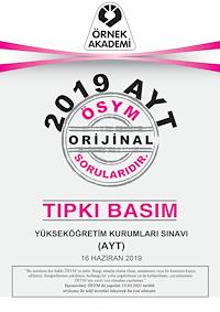 2019 AYT Tıpkı Basım
