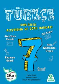 7. Sınıf Türkçe Alıştırma ve Soru Bankası - 2019