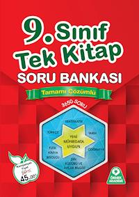 9. Sınıf Tek Kitap Soru Bankası-Tamamı Çözümlü