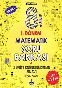 8. Sınıf 1. Dönem Matematik Soru Bankası - 2019