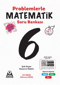 6. Sınıf Problemlerle Matematik Soru Bankası - Tamamı Yeni Nesil