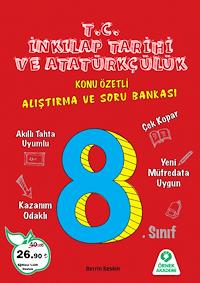 8. Sınıf T.C. İnkılap Tarihi ve Atatürkçülük Alıştırma ve Soru Bankası - 2019