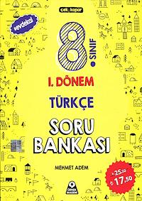 8. Sınıf 1. Dönem Türkçe Soru Bankası - 2019