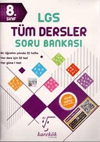 8. Sınıf LGS Tüm Dersler Soru Bankası