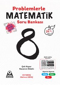 8. Sınıf Problemlerle Matematik Soru Bankası - Tamamı Yeni Nesil