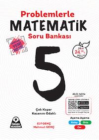 5. Sınıf Problemlerle Matematik Soru Bankası - Tamamı Yeni Nesil