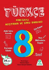 8. Sınıf Türkçe Alıştırma ve Soru Bankası - 2019