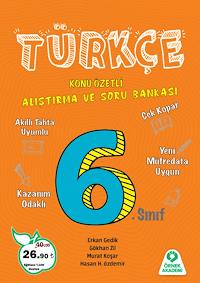 6. Sınıf Türkçe Alıştırma ve Soru Bankası - 2019
