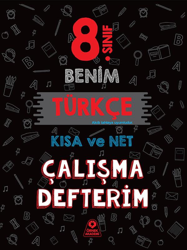 8. Sınıf Benim Türkçe Çalışma Defterim