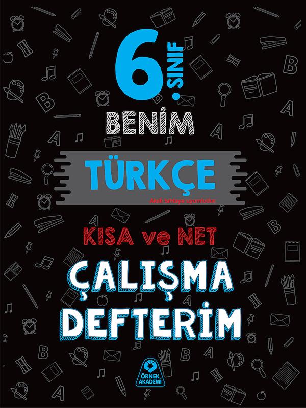6. Sınıf Benim Türkçe Çalışma Defterim