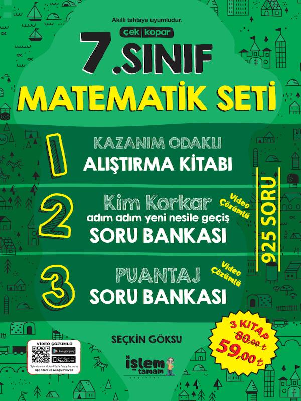 7. Sınıf Matematik Seti