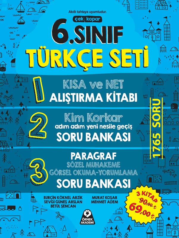 6. Sınıf Türkçe Seti