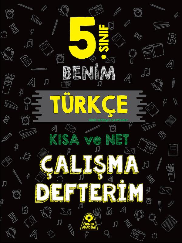 5. Sınıf Benim Türkçe Çalışma Defterim